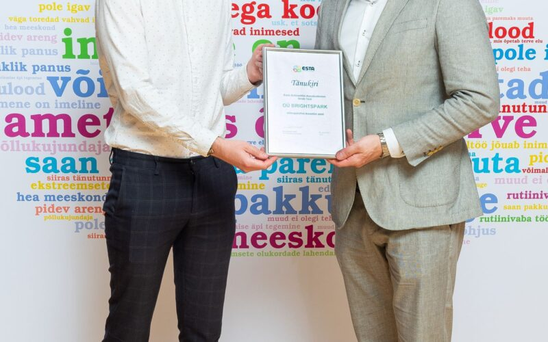 Eesti Sotsiaaltöö Assotsiatsioon tunnustas Rehasoft'i